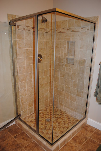 Master Bath Shower traditional-bathroom