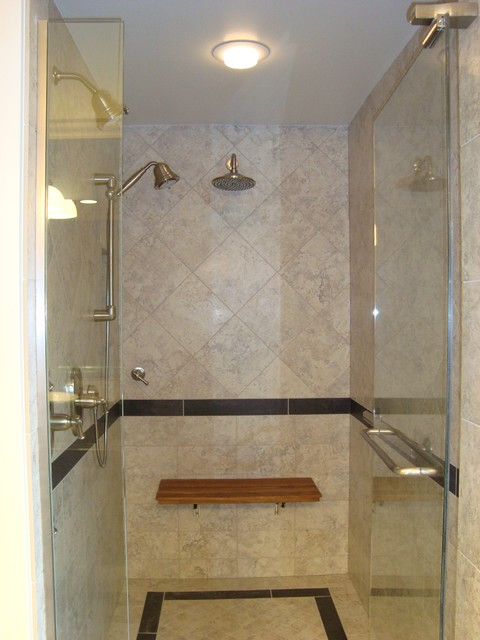 Master Bath Shower contemporary bathroom