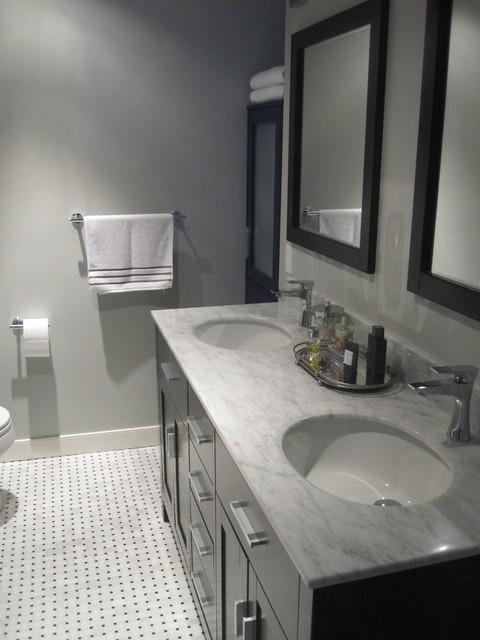 Master Bath Signal Hill Contemporary Bathroom Calgary By Sw Renovations Inc