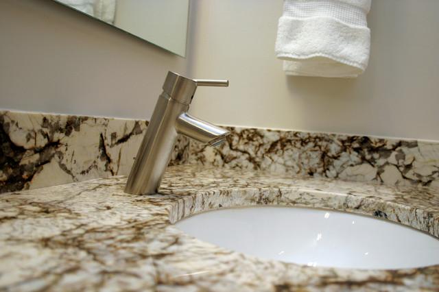 Master Bath Sink Detail modern-bathroom