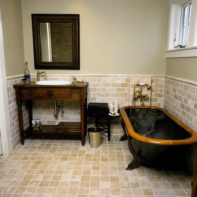 Master bath classique salle de bain baltimore par for Salle de bain classique