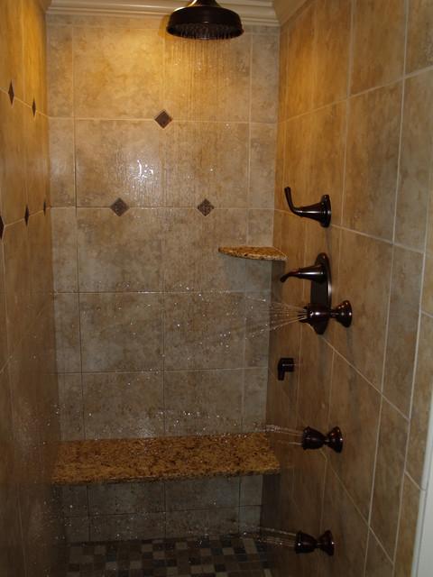 master bath  spa mediterranean-bathroom