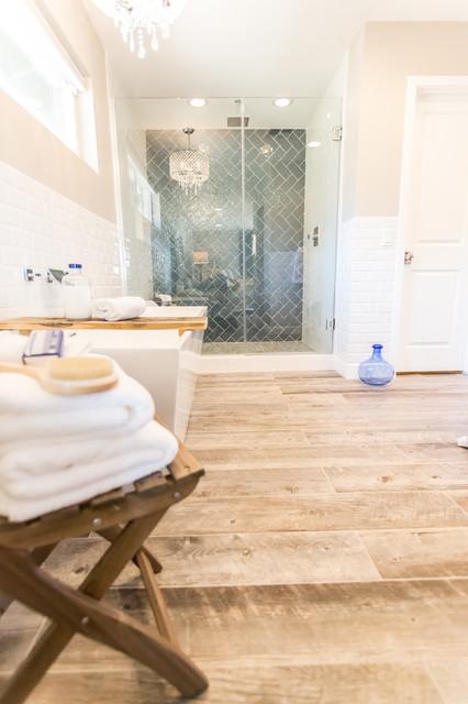 Master bath spa retreat contemporary bathroom for Spa retreat bathroom ideas