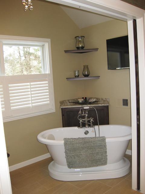 Master bath spa retreat for Spa retreat bathroom ideas