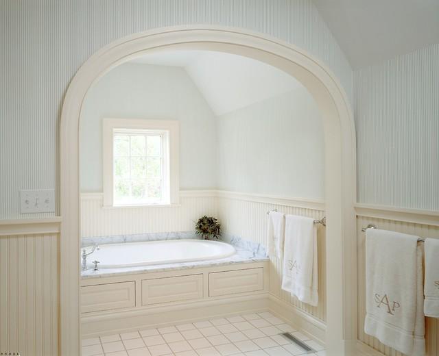 Master Bath Tub Alcove Traditional Bathroom