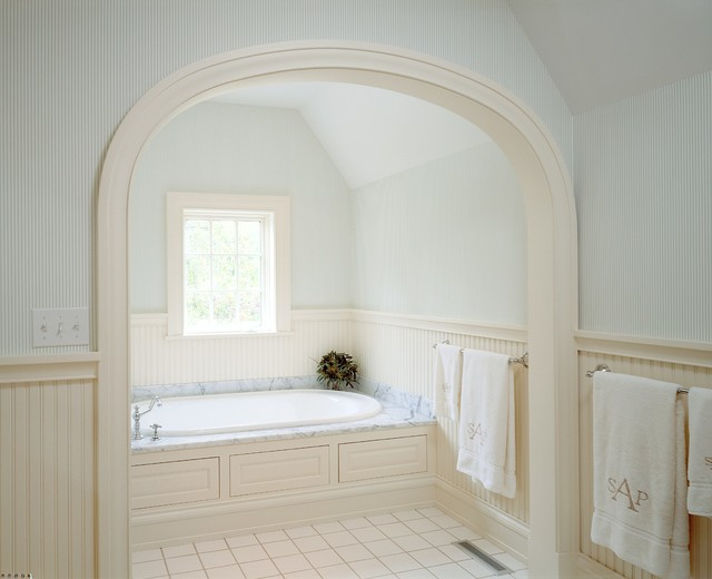 Master Bath Tub Alcove - Traditional - Bathroom - Minneapolis - by Porth Architects, Ltd.