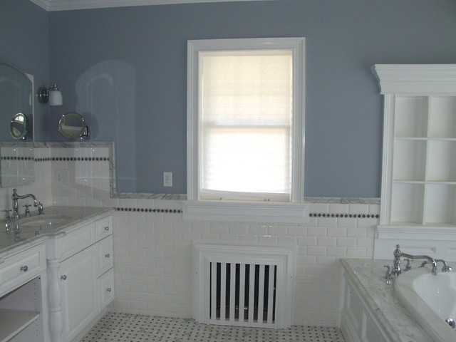 Master Bath Using Classic Period Materials Traditional Bathroom