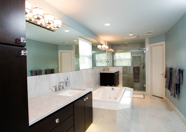 Master Bath Vanities  Floating modernbathroom