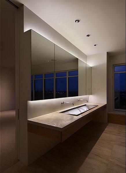 Master Bath Vanity Modern Bathroom Houston By Bruce Roadcap Archite