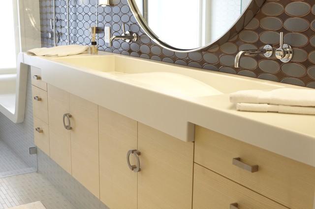 Master Bath Vanity contemporary-bathroom