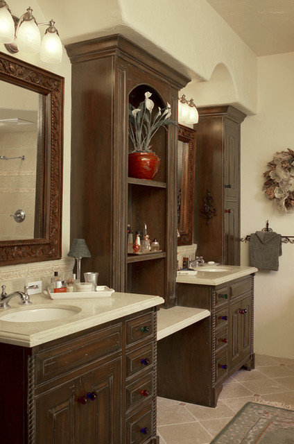 Master bath vanity for Master bathroom cabinet designs