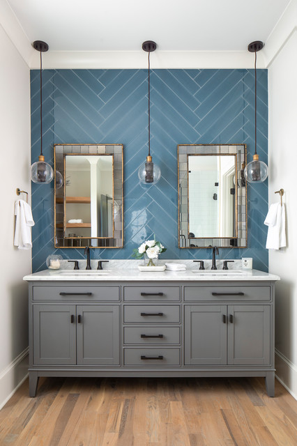 Your Guide To A Transitional Style Bathroom, Transitional Bathroom Vanities