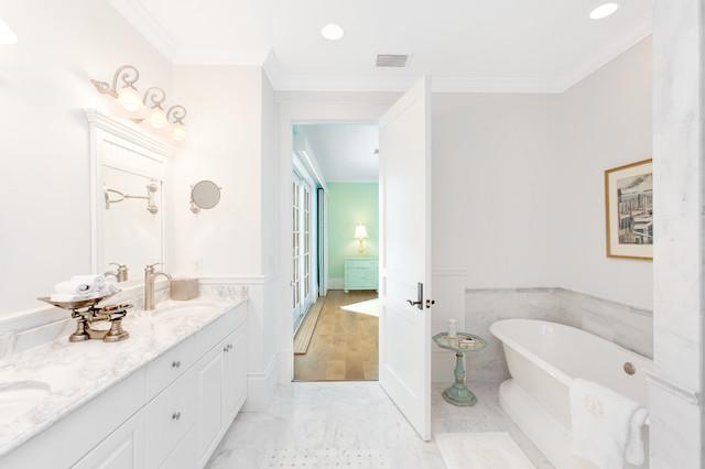 West Indies House Design Tropical Bathroom Miami