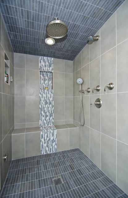 Master Bath With Steam Shower Contemporary Bathroom