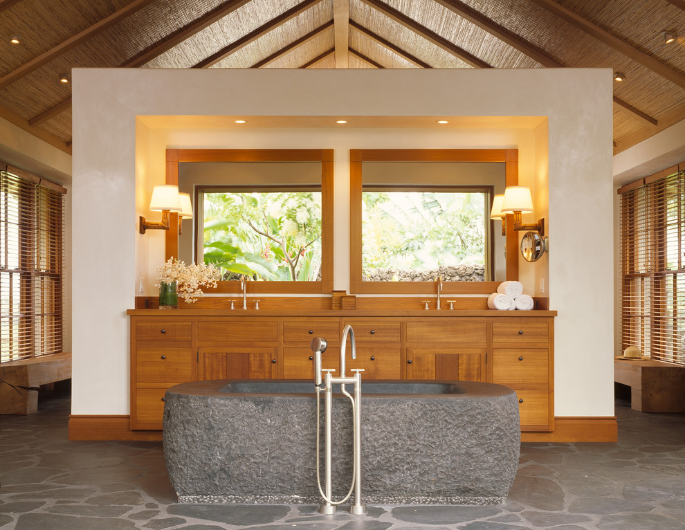 Master Bath - Tropical - Bathroom - San Francisco - by ZAK ...