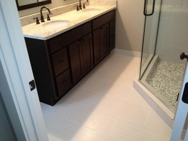 Master Bathroom 12x24 Zera - Contemporary - Bathroom ...