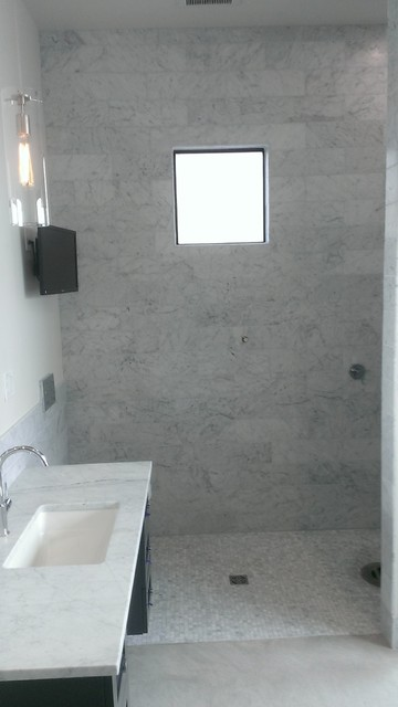 Vanity Walls  Contemporary  Bathroom  austin  by Custom Surface