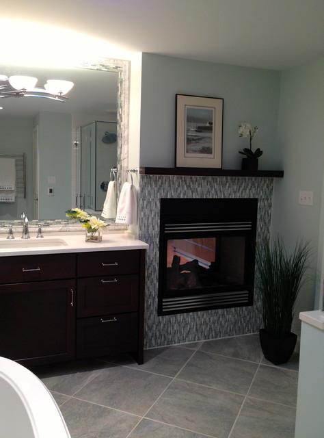 Master Bathroom addition contemporary-bathroom