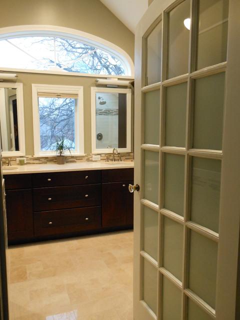 Master Bathroom Addition, Oak Park, IL eclectic-bathroom