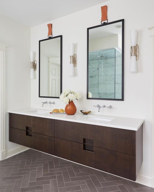 Powder Room By Amy Kartheiser Design: Master Bathroom