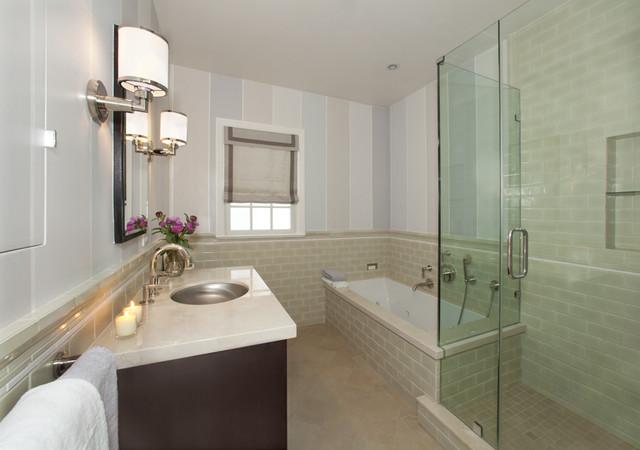 Master bathroom traditional bathroom san francisco for Bathroom design san francisco