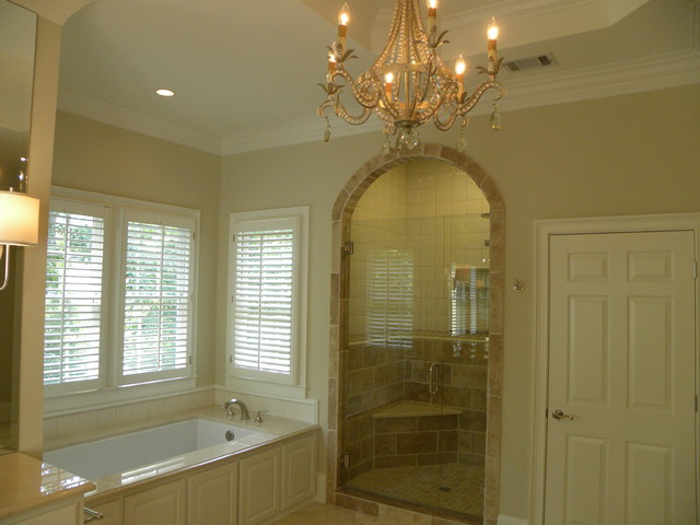 Master Bathroom and Bedroom Remodel traditional-bathroom