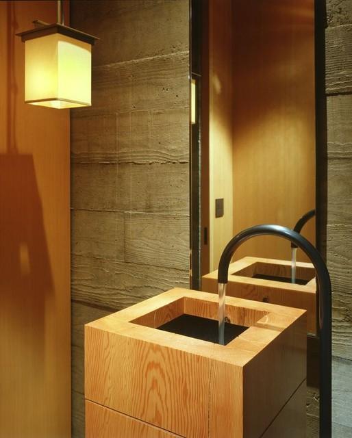 Master bathroom & Powder Room contemporary-bathroom