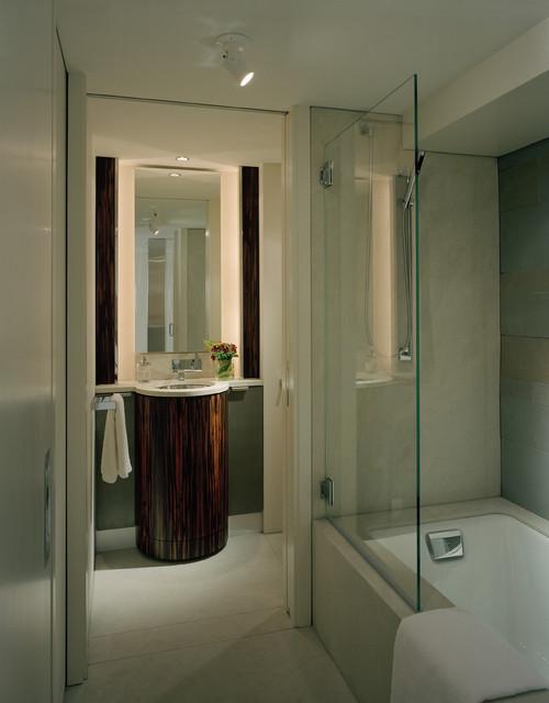 Master Bathroom & Vanity contemporary-bathroom