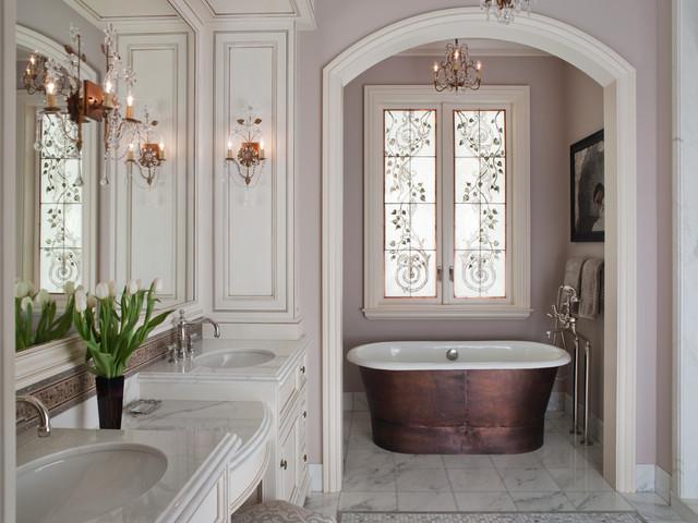 Master Bathroom Bathtub Victorian Bathroom San