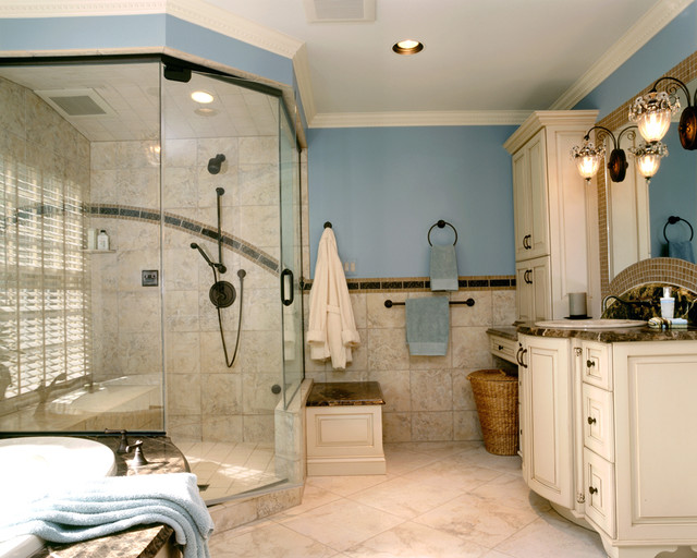 Master Bathroom Bedroom Closet And Balcony Renovation Traditional Bathroom Other Metro