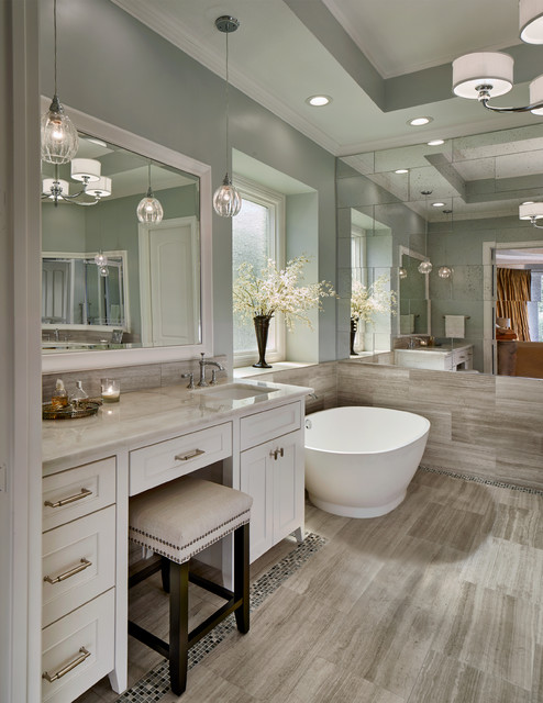 Hidden meadow mckinney transitional bathroom dallas for Bathroom remodel mckinney