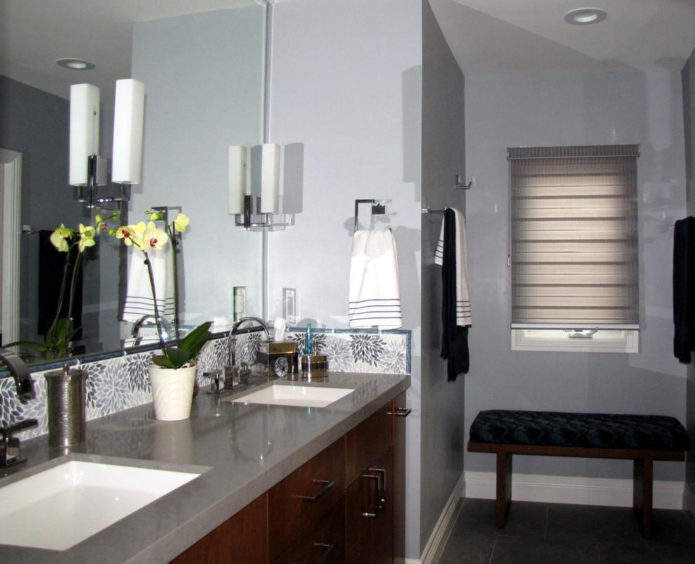 Bathroom - contemporary bathroom idea in Los Angeles