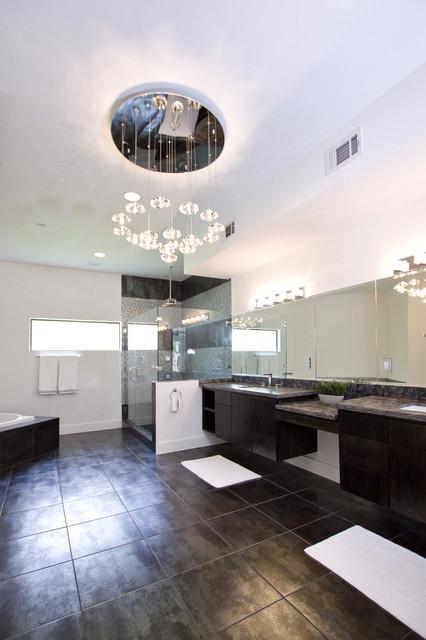 Master Bathroom Contemporary Bathroom Houston By
