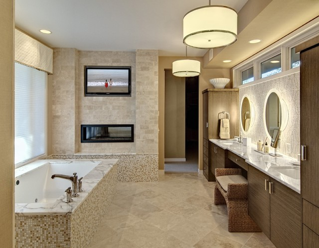 Bathroom By Design master bathroom - contemporary - bathroom - minneapolis -