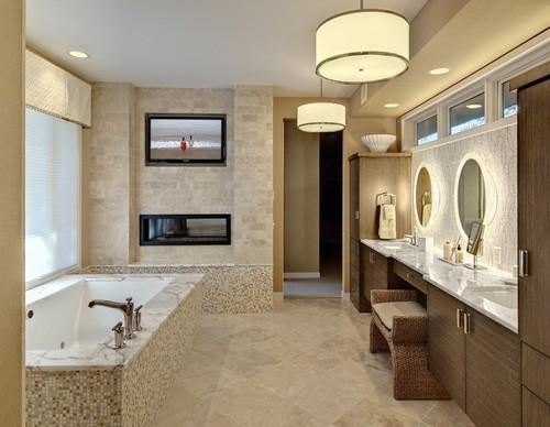 Bathroom Design Ideas How To Include A Flatscreen TV - Bathroom design minneapolis