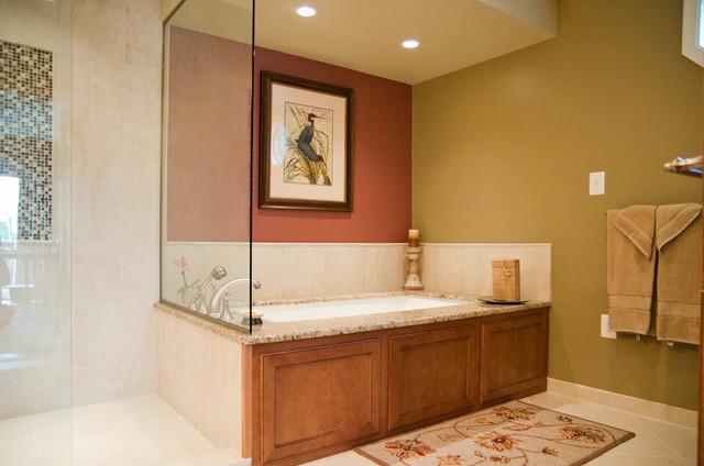 Master Bathroom - Gary and Leslie traditional-bathroom