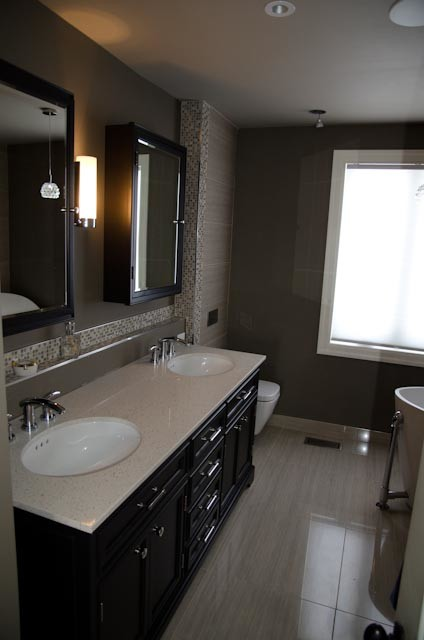 Master Bathroom - Contemporary - Bathroom - Burlington ...