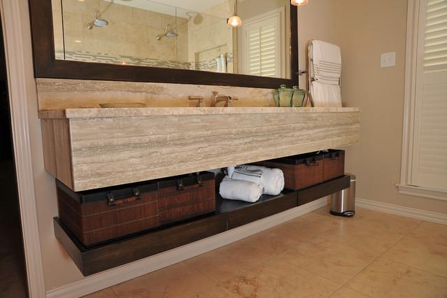 Master Bathroom- Honeycutt traditional-bathroom