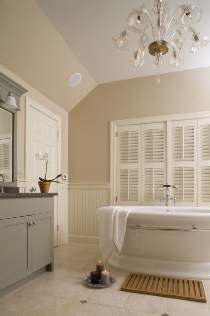 Master Bathroom Traditional Bathroom Boston By Howell Custom Building Group