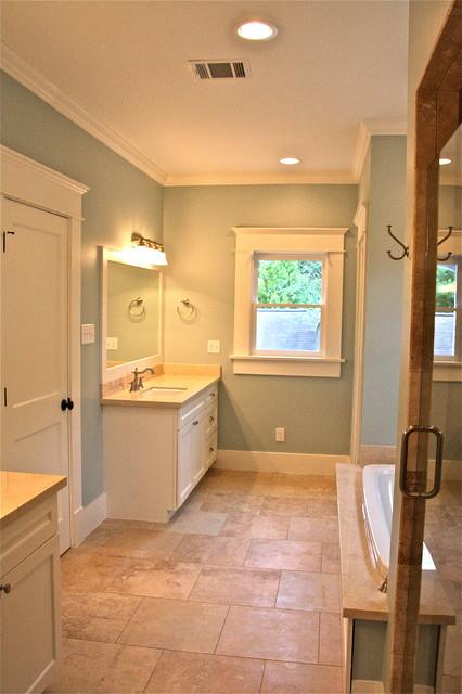 Master bathroom - Craftsman - Bathroom