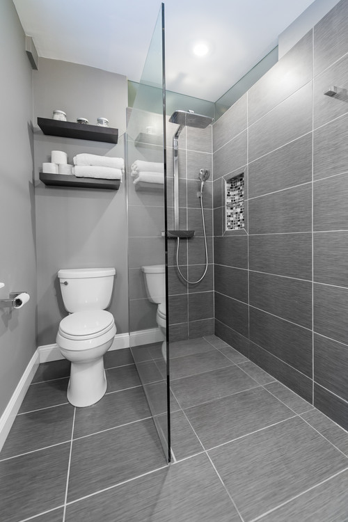 Advice for tile orientation in bathroom remodel for Bath remodel baltimore