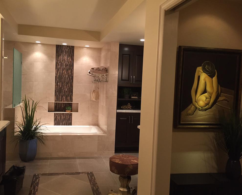Master Bathroom in Rancho Palos Verdes