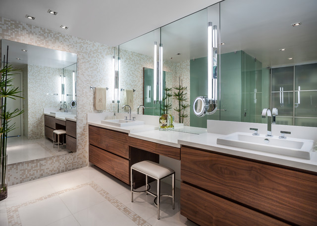 bathroom makeup vanity. Master Bathroom Jade Contemporary-bathroom Makeup Vanity
