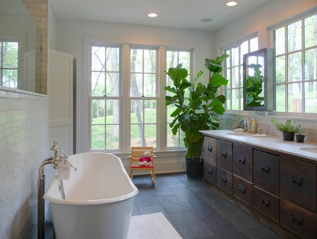 Marvelous Contemporary Bathroom by John TeSelle
