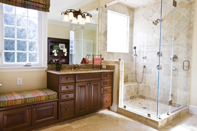 Master bathroom traditional bathroom richmond by for Traditional master bathroom design ideas