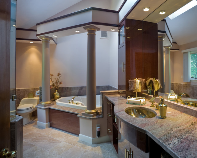 master bathroom mediterranean bathroom boston by