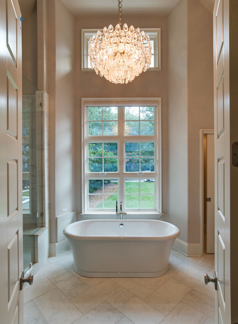 Bathroom photo in Charlotte