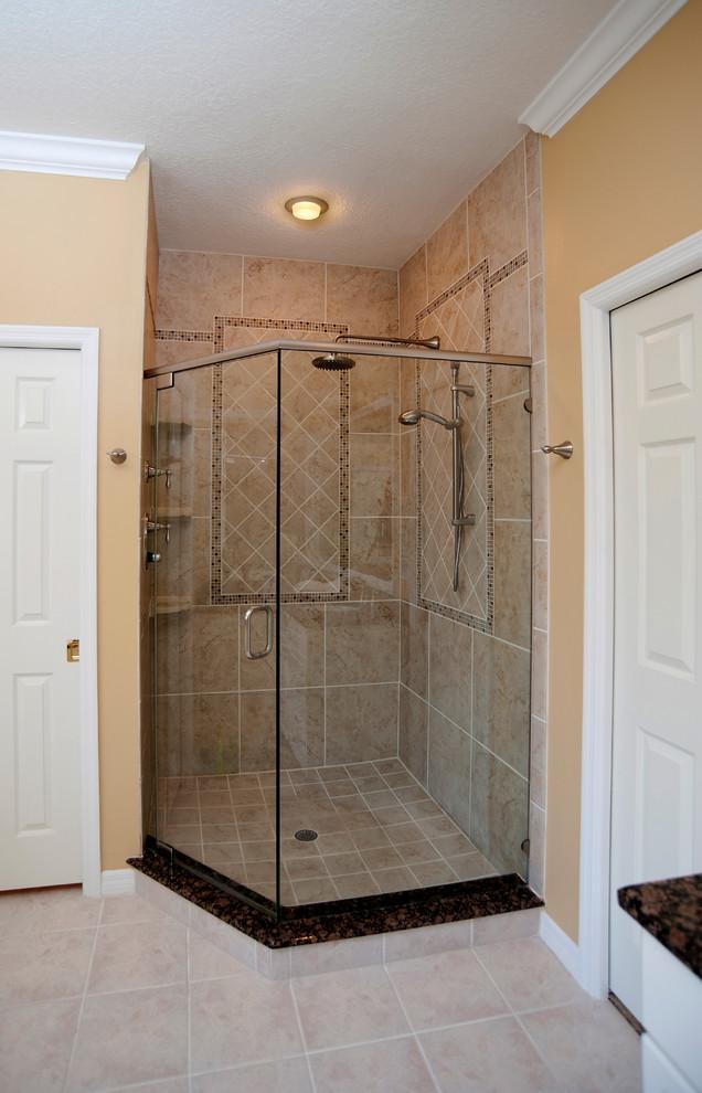 Master Bathroom Oasis // Bradenton - Transitional ...