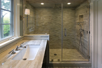 What Is The Rock/accent Back Wall In The Shower? Where Can I Get It?