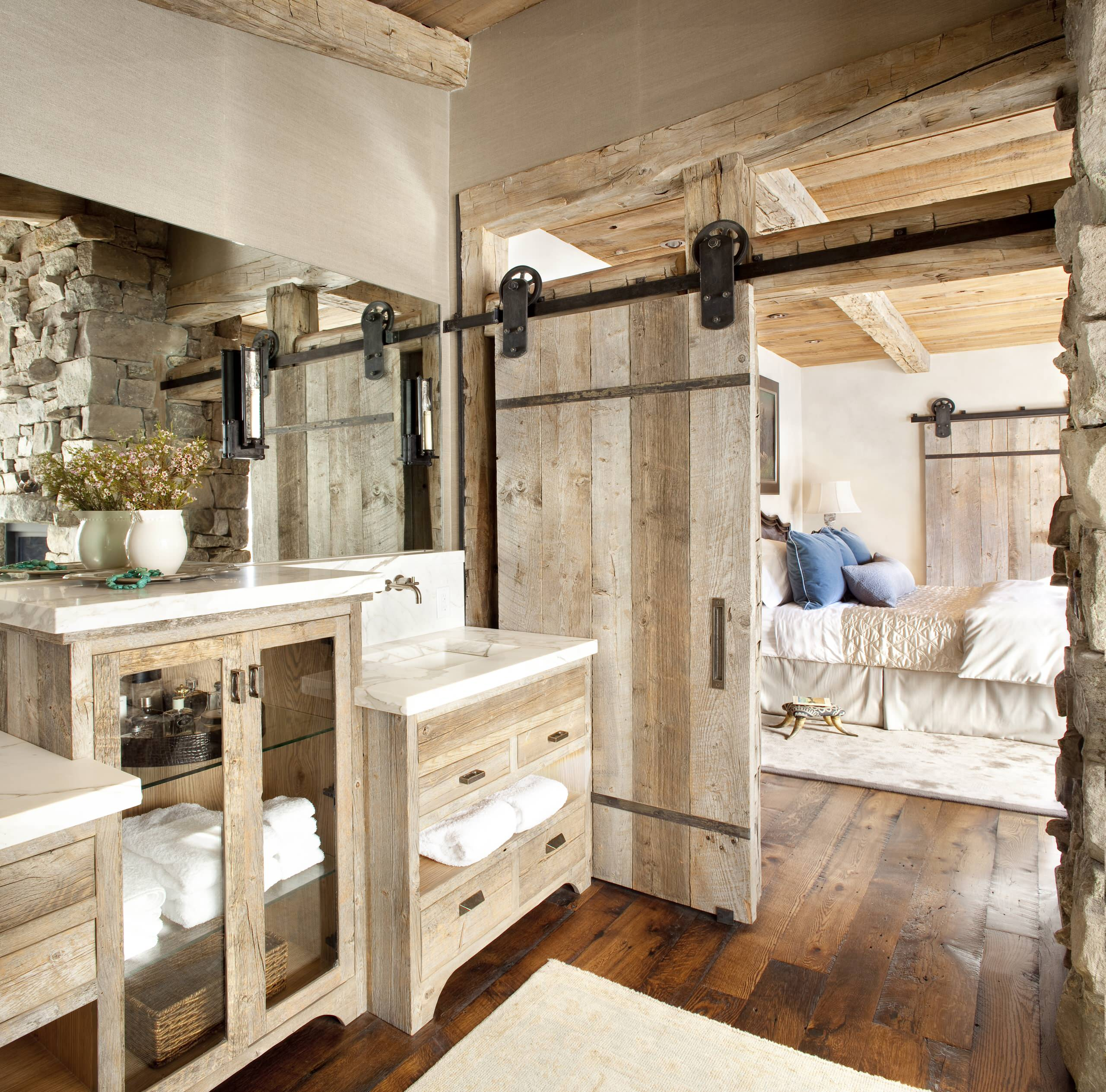 10 Beautiful Rustic Bathroom Design Ideas & Pictures  Houzz